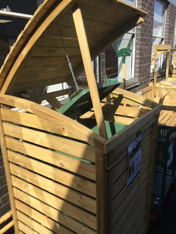 How To Build A Wooden Wheelie Bin Store?