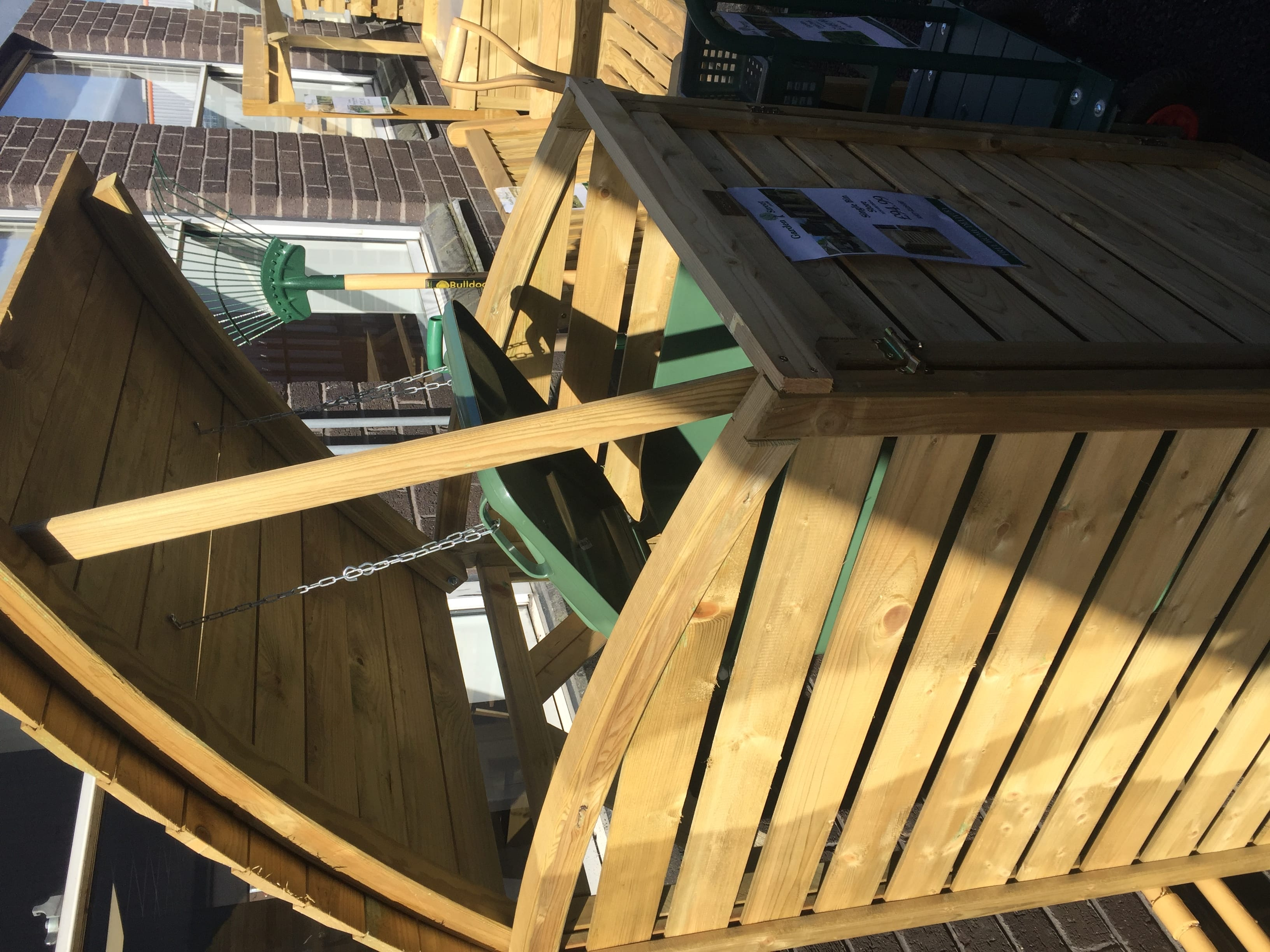 How To Build A Wooden Wheelie Bin Store The