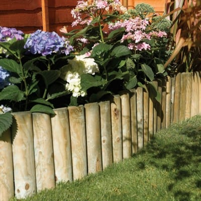 How to fix log roll edging | Garden Street