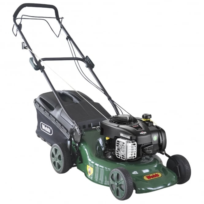 Webb 140cc Self-Propelled Rotary 3-in-1 Petrol Lawn Mower