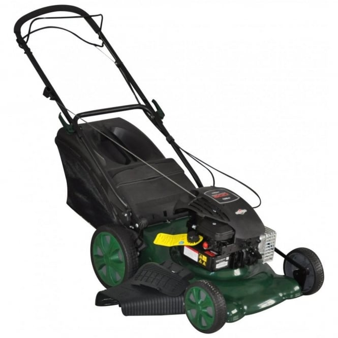 Webb 140cc Self-Propelled Rotary High Wheel 4-in-1 Lawn Mower
