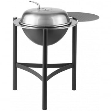 1900 Kettle Charcoal BBQ With Sidetable - 58cm