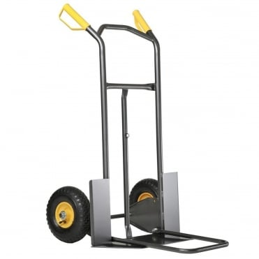 200kg Pneumatic Wheel Rollax Sack Truck