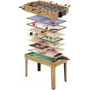 34-In-1 Multiplay Games Table