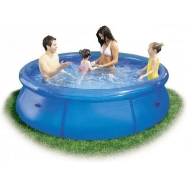 8ft Clear Easy Set Pool