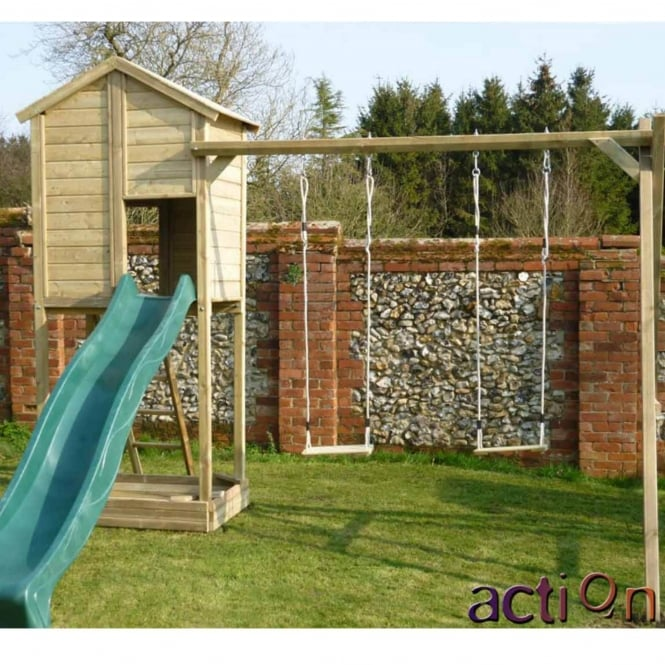 Action Monmouth Lodge Climbing Frame