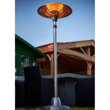 Adjustable Free-Standing 2100W Halogen Patio Heater