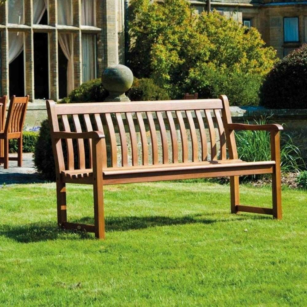alexander rose cornis broadfield bench 5ft garden street