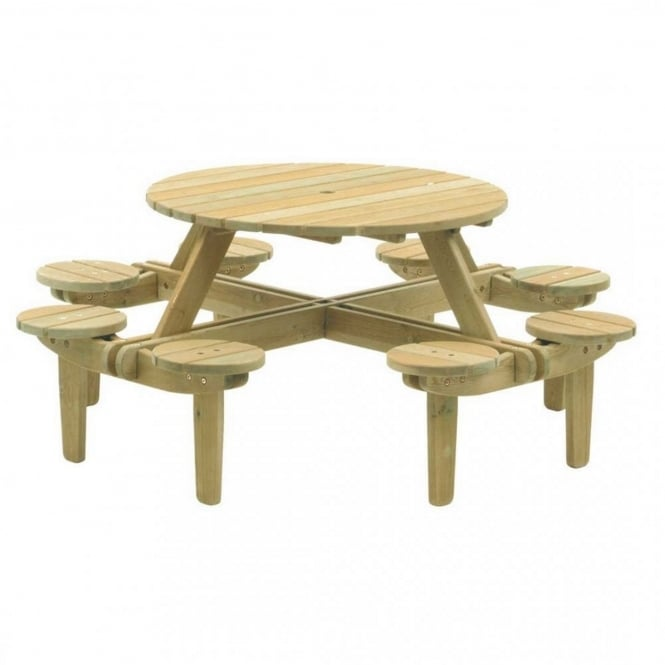 Alexander Rose Gleneagles Picnic Table