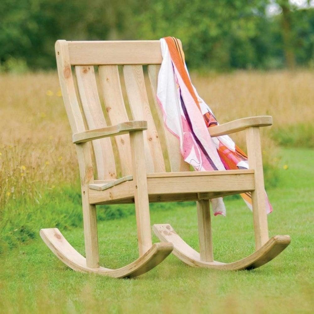 Alexander Rose Pine Farmers Rocking Chair