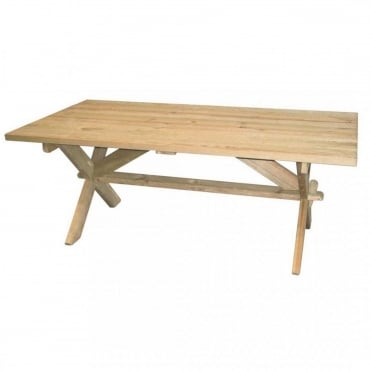 Pine Farmers Table 1.9m