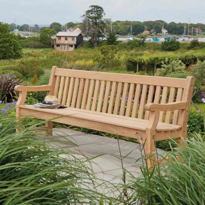 Alexander Rose Roble Royal Park Bench 8ft