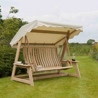 Roble Swing Seat With Canopy