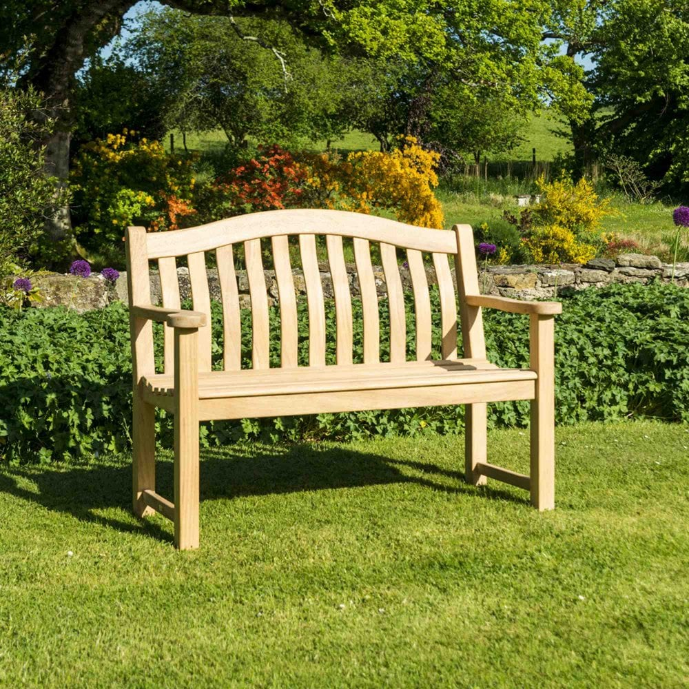 Stupendous Alexander Rose Roble Turnberry Bench 4Ft Pabps2019 Chair Design Images Pabps2019Com
