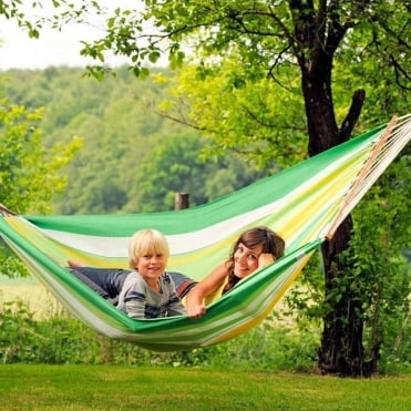 Brasilia Hammock with Spreader Bar Large