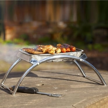 Dual BBQ Stand