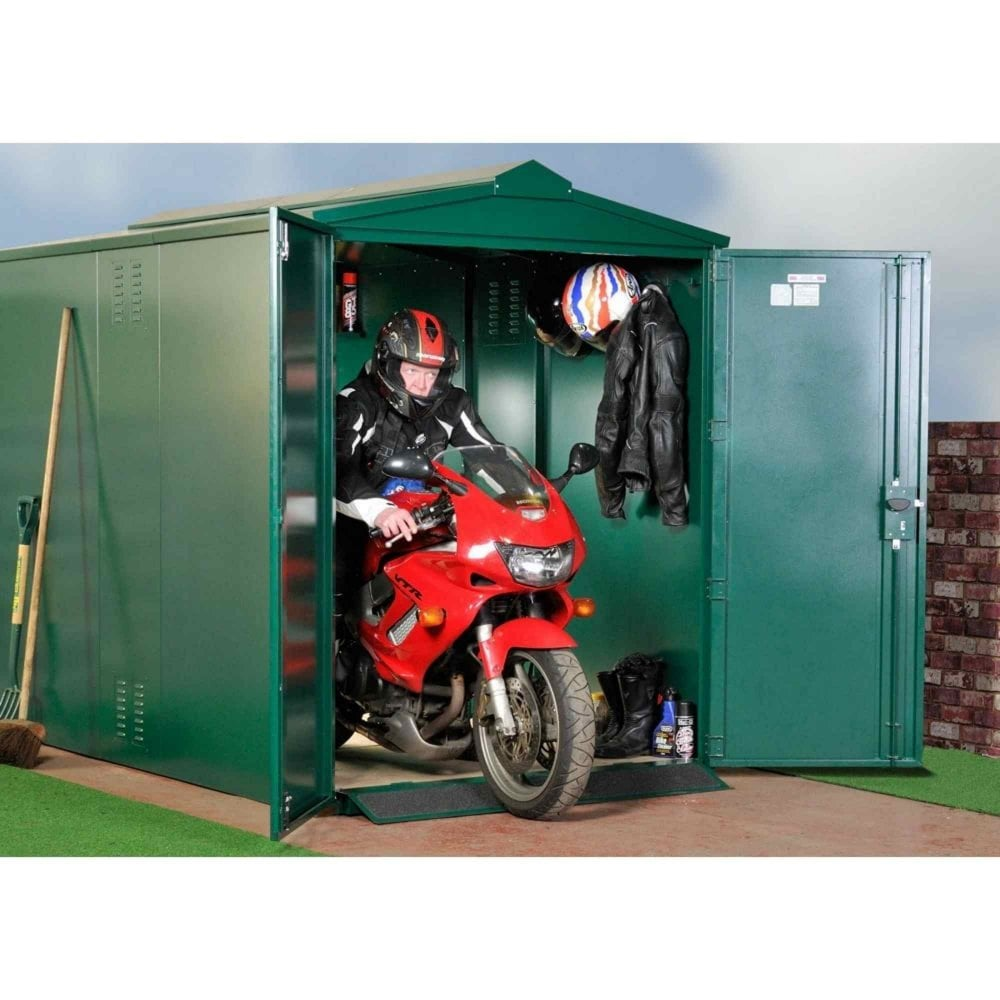 Centurion Motorcycle Secure Garage Police Approved