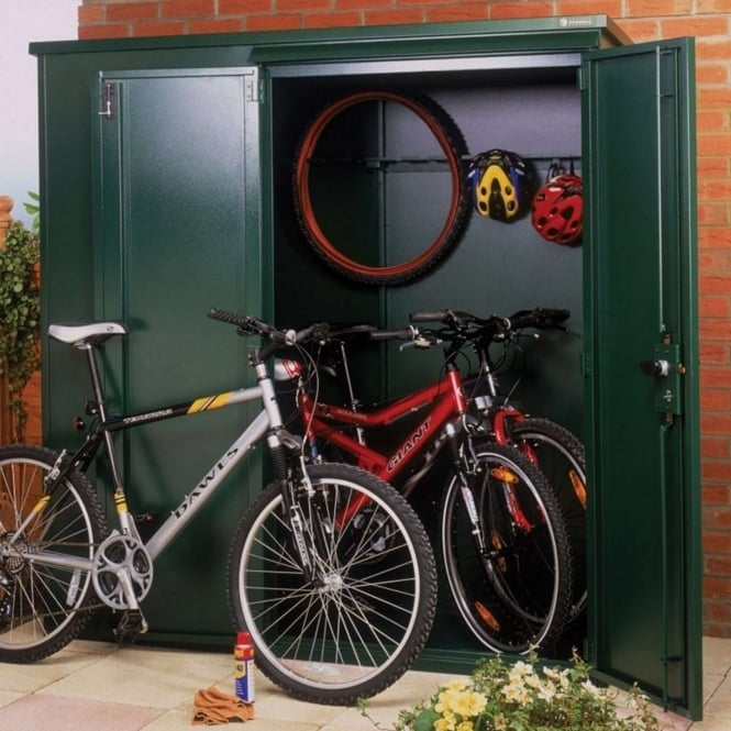 Asgard Classic Metal Shed - Police Approved