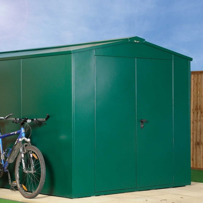 Asgard Gladiator P1 Metal Shed 7X11 - Police Approved