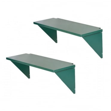 Gladiator Shed Shelves Pack Of Two