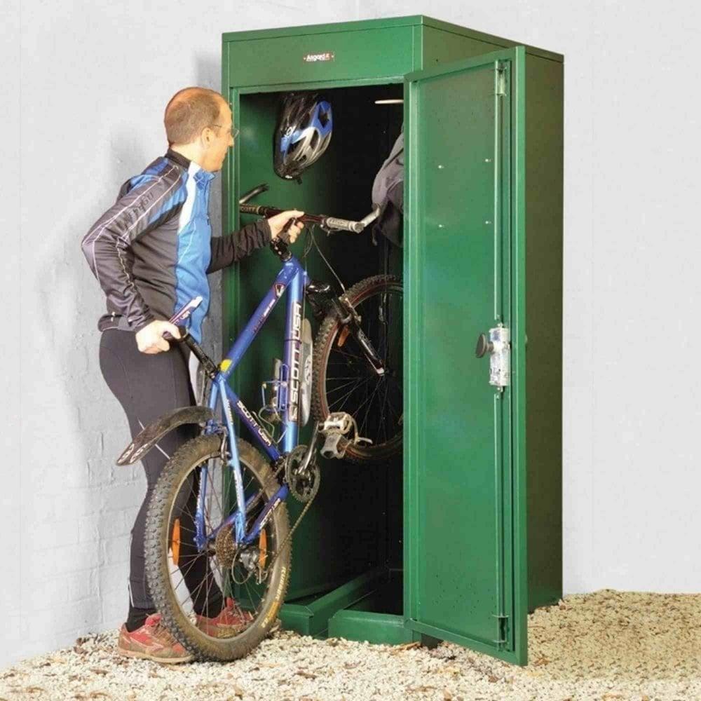 Asgard Vertical Bike Locker Garden Street