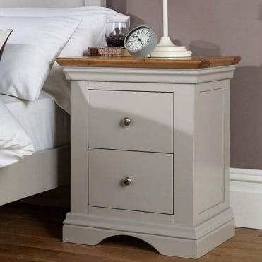 Astbury 2 Drawer Bedside Table