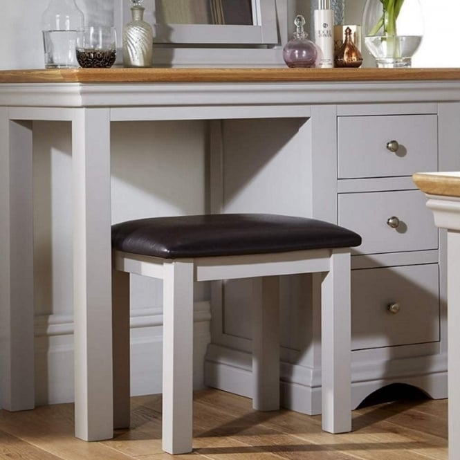 Rowlinson At Home Astbury Bonded Leather Stool