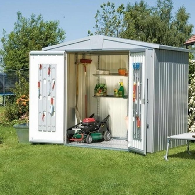 Biohort Europa Size 3 Metal Apex Shed 8X5