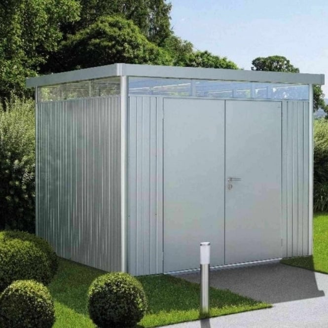 Biohort Highline H4 Metal Pent Shed 8X8