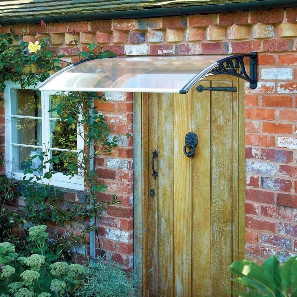 Greenhurst Black Door Canopy Garden Street