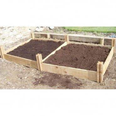 Blackdown Standard Double Raised Bed