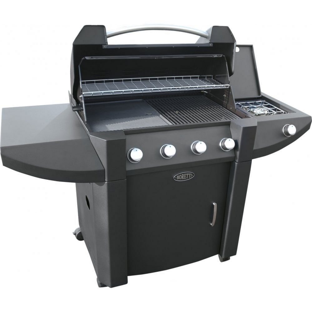 Boretti Gas Bbq.Robusto 4 Burner Gas Bbq