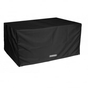 Storm Black 8 Seat Rectangular Table Cover