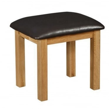 Breton Solid Oak Dressing Stool