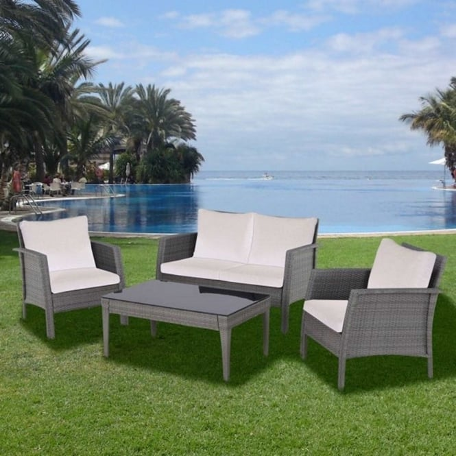 Brundle 4 Seater Lounge Set