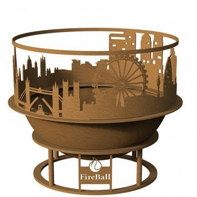 Brundle 60cm London Skyline Fireball With Cover