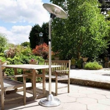 Adjustable Floor Standing Halogen Heater
