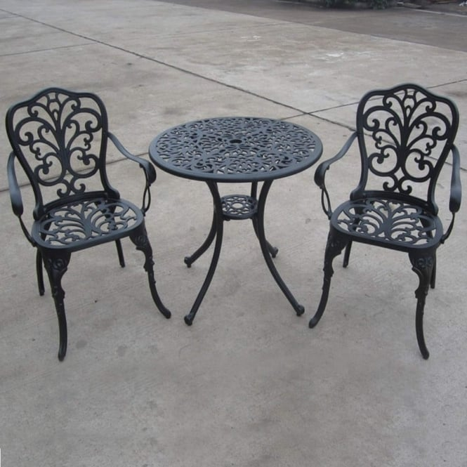 Brundle Aluminium Bistro Set