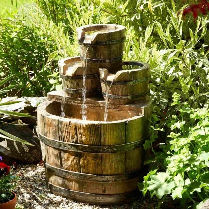 Brundle Barrel Water Feature