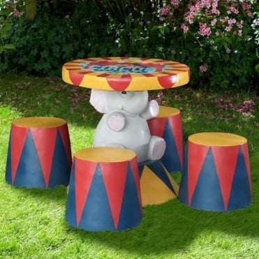 Children's Circus Furniture Set