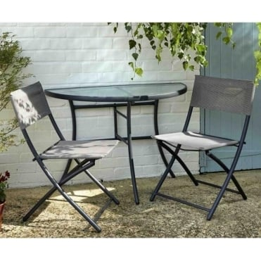 Foldable Half Table & Chairs