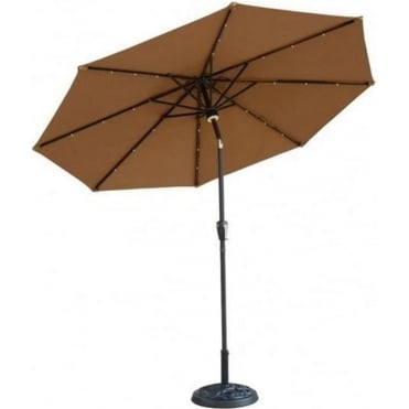 Light Up Parasol with Bluetooth Speaker