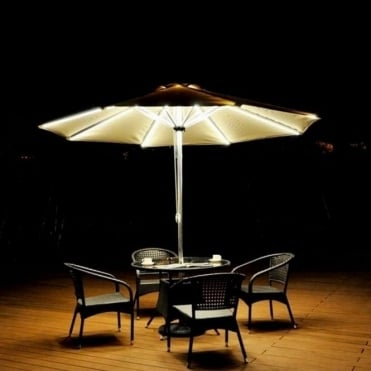 Light Up Parasol with USB Port