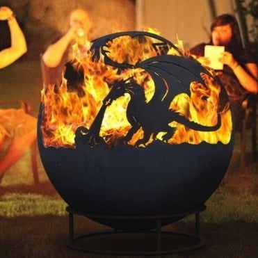 Large Dragon Fireball With Cover