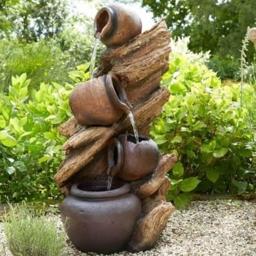 LED Jug Water Feature