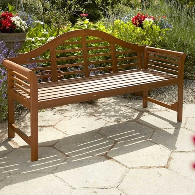 Brundle Lutyens Style Wooden Bench