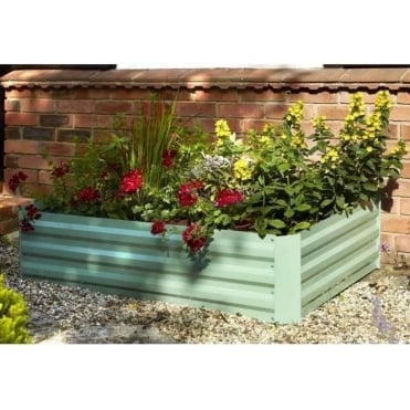 Raised Metal Planter