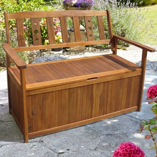 Brundle Wooden Storage Bench
