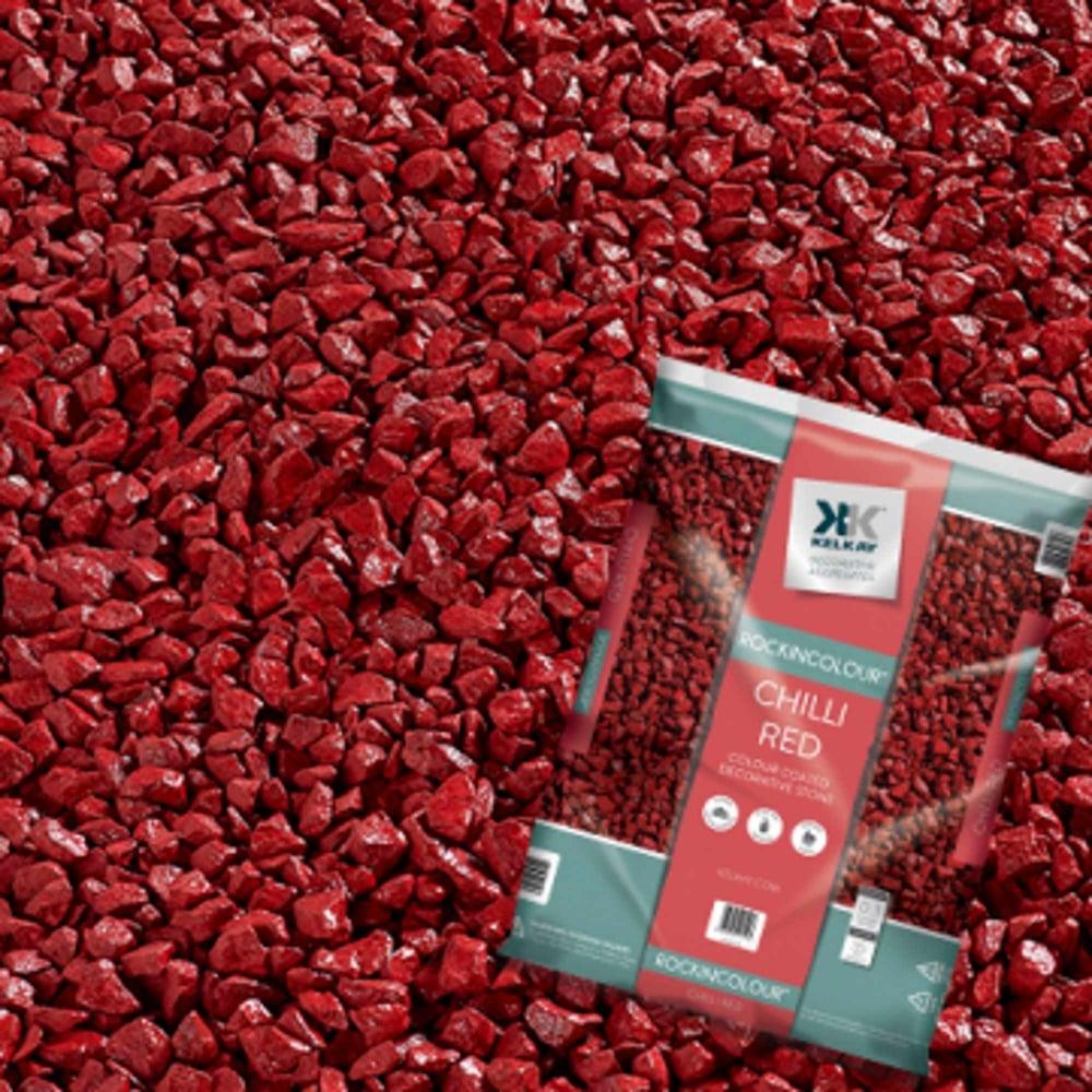 Red Stones For Garden Kelkay bulk bag chilli red decorative stones garden street bulk bag chilli red decorative stones workwithnaturefo