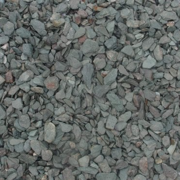 Bulk Bag Green Slate 20mm
